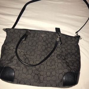 COACH Outline Signature Kelsey Handbag